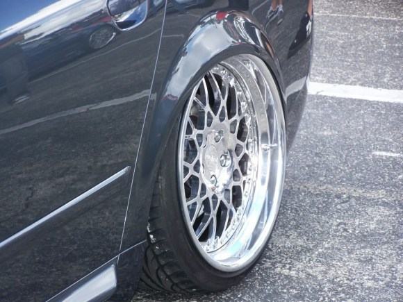 3 piece forged Rotiform BLQ polished