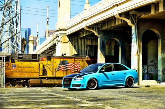 Randy's B7 A4 with HREs