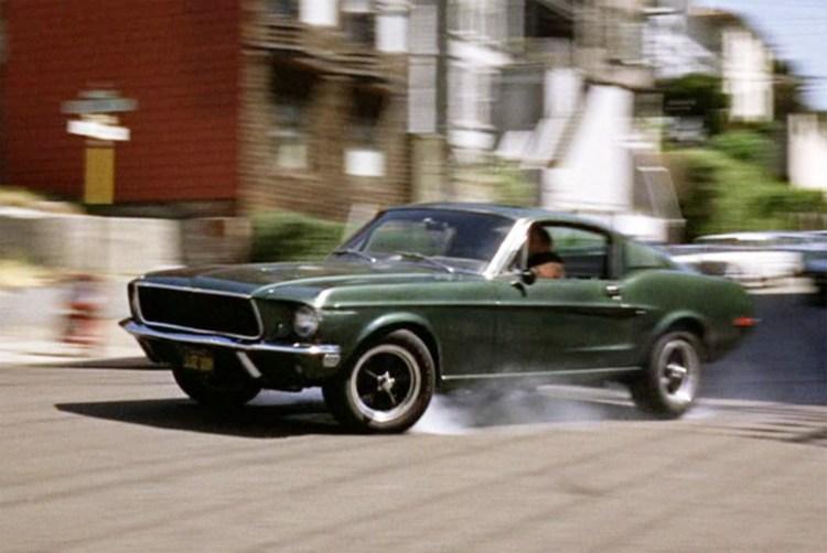 Mustang Bullitt Movie Car