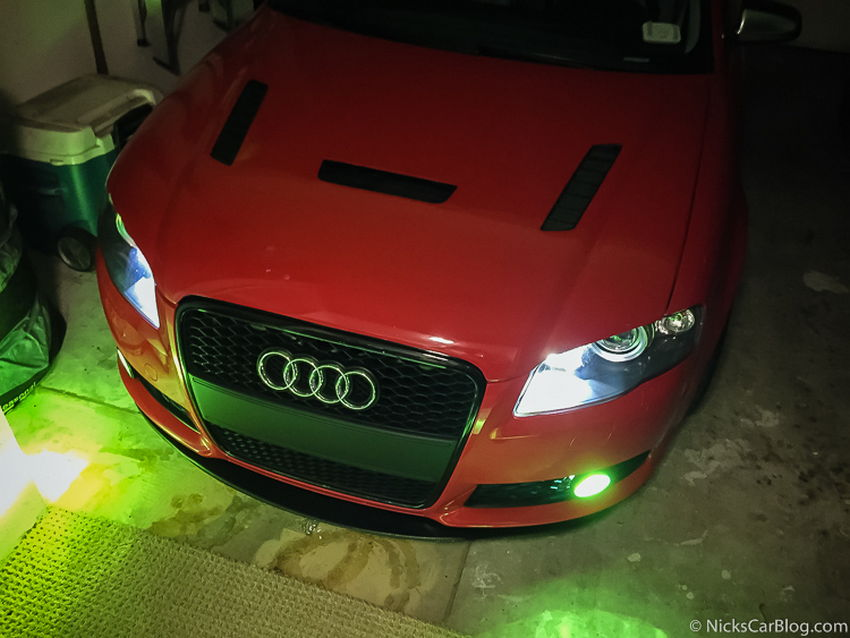 B7 Audi A4/S4/RS4 Independent Fog Light Mod – Nick's Car Blog