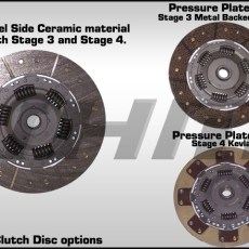 JHM Stage 3 Clutch and Lightweight Flywheel