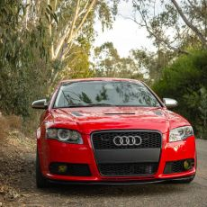 B7 Audi A4/S4/RS4 Front Bumper Repair & Alignment