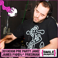 Pre Party Jamz Volume 85: James F!@#$%^ Friedman