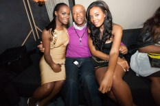 Tika Sumpter, Russell Simmons, Angela Simmons
