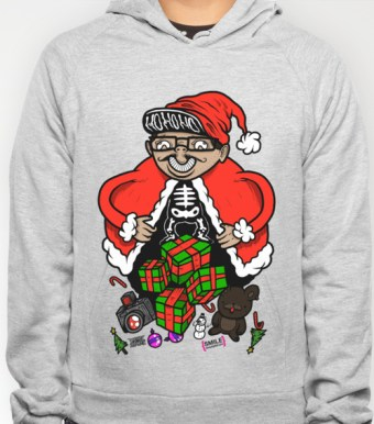 Nicky Digital Holiday Hoodies available HERE!