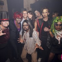 Thriller Dance Mob at Jeromes at Rivington F+B on September 27, 2014