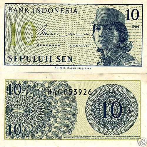 Indonesia 10 Lima