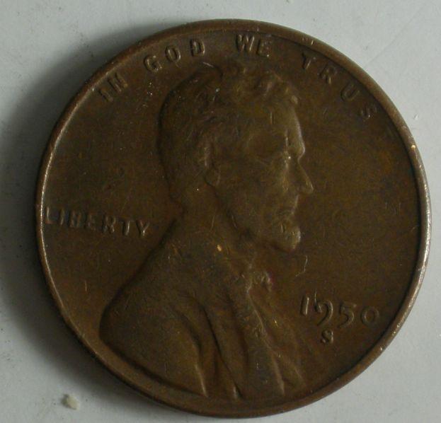1950 S Wheat Penny