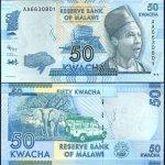 MALAWI 50 KWACHA BANKNOTE