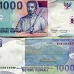 INDONESIA 1000 RUPIAH 2013-2000 P 141 UNC
