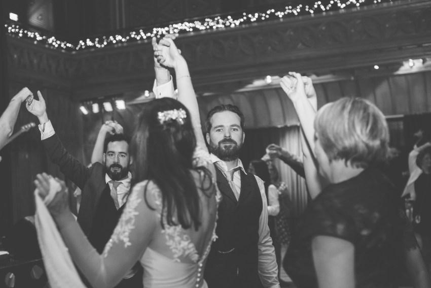 Luke O'Shea-Phillips wedding dancing
