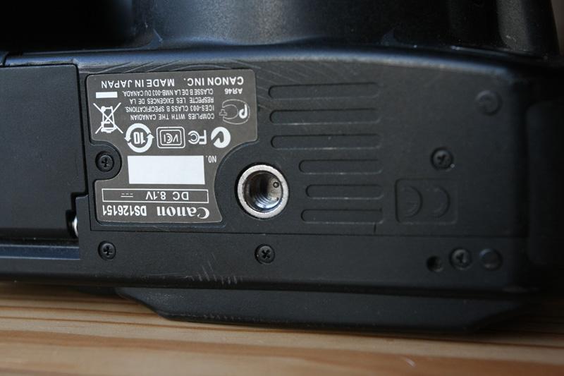 Dimensions de la vis de maintien sous l'appareil photo – Filetage de la semelle – Pas Kodak ou Congrès ?