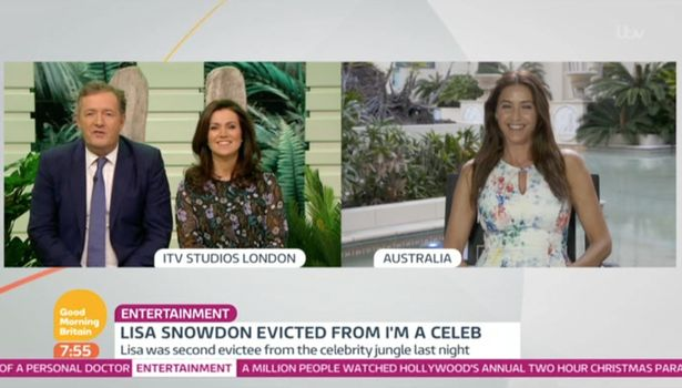 Piers Morgan DEMANDS To Know If Lisa Snowdon Shaved During Her Time In The I'm A Celebrity Jungle