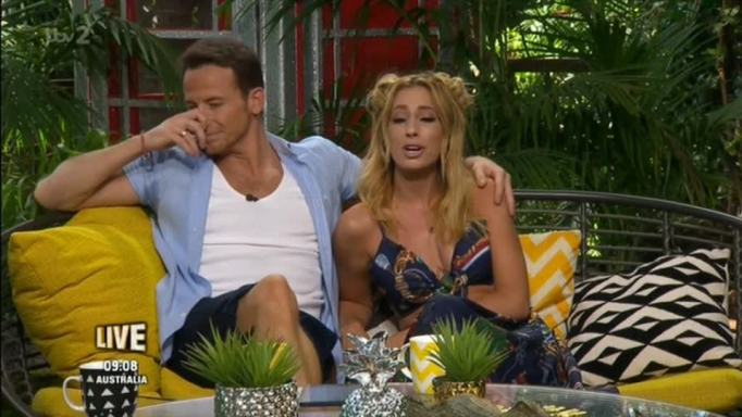 Stacey Solomon Gushes Over I'm A Celebrity's Wayne Bridge Just As She Sits Next To Boyfriend Joe Swash