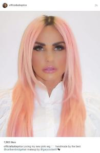 Katie Price Shares Selfie With New Pink Hair Dividing Fans