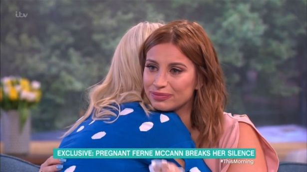 Pregnant Ferne McCann Has Breakdown On This Morning During First Interview About Being Pregnant And Ex Arthur Collins Being Arrested Over Acid Attack