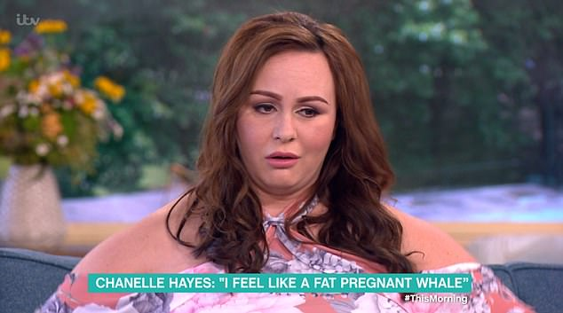Chanelle Hayes Forced To Have Sick Bucket Next To Her During Interview On This Morning Due To Morning Sickness