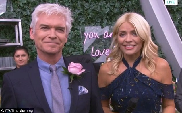 Twitter Goes Wild With Innuendos After Phillip Schofield And Holly Willoughby Film This Morning From The Shard