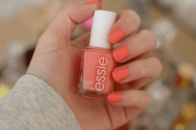 Essie Peach Side Babe Nail Swatch