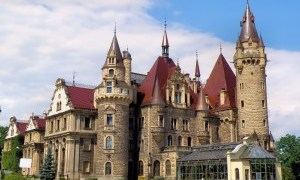 attractions Moszna Castle