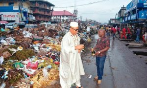 Anglican-priest-marks-independence-at-rubbish-dump-on-Owerri-street
