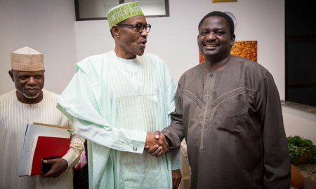 femi adesina and Buhari