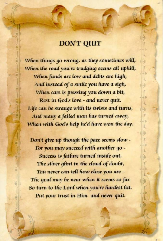 Don't Quit - Keep Dreaming (2/2)