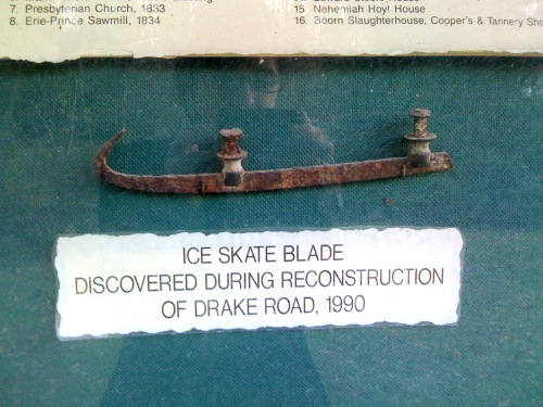 ice skate blade