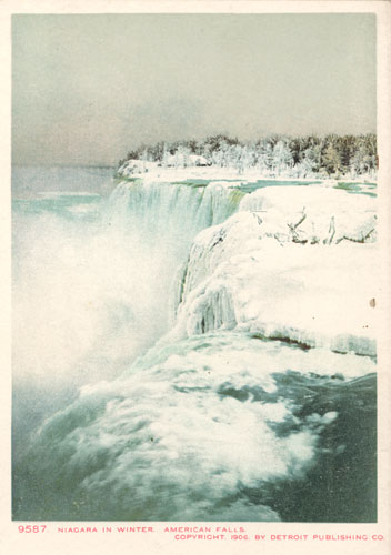niagra in winter