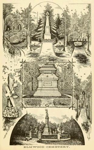 silas farmer_elmwood cemetery