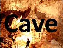 cave photo button