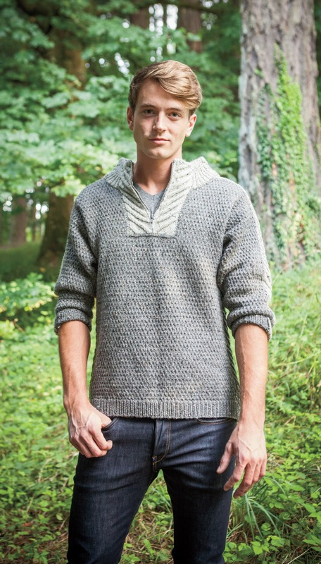 Men's Staghorn Waffle Sweater