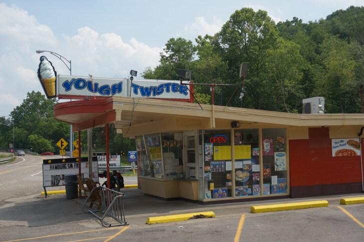 Ice cream near West Newton, Pa.