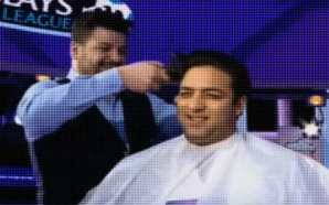 VIDEO: Mido shaves his head on live TV for Leicester…