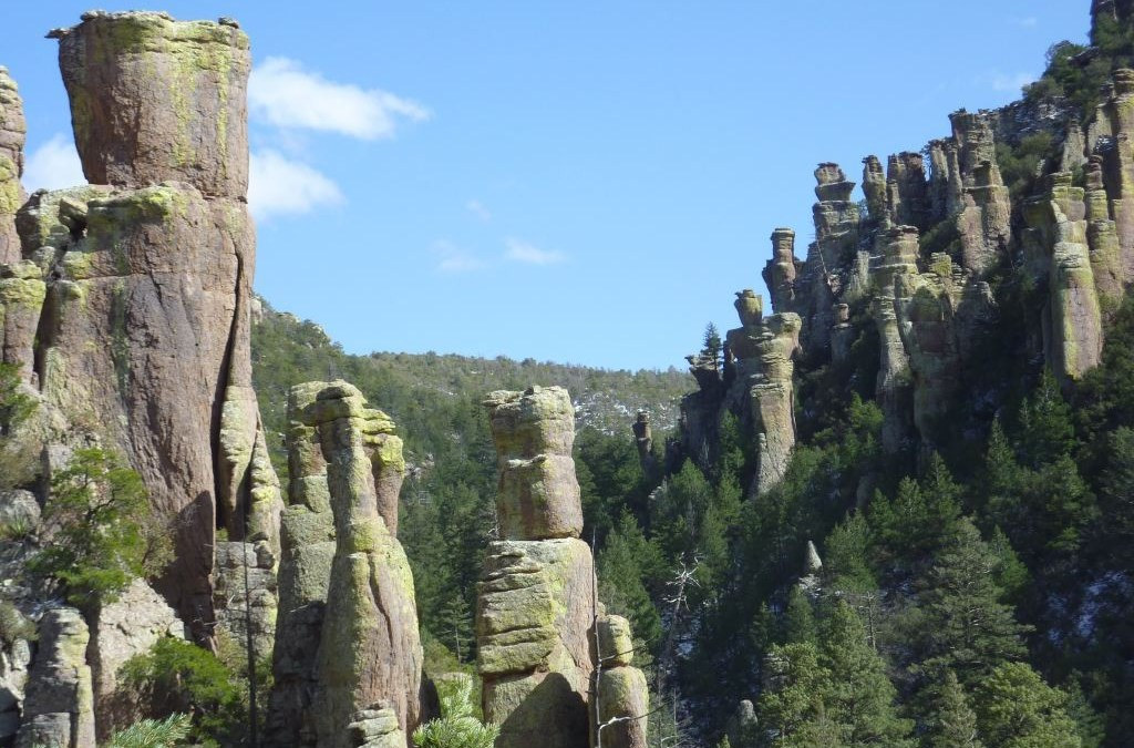 Valley of Stacked Rocks in Chiricahua Wilderness
