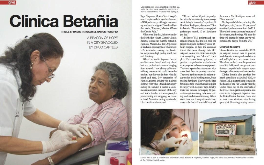 Magazine Article: Clinica Betañia, Reynosa, Mexico