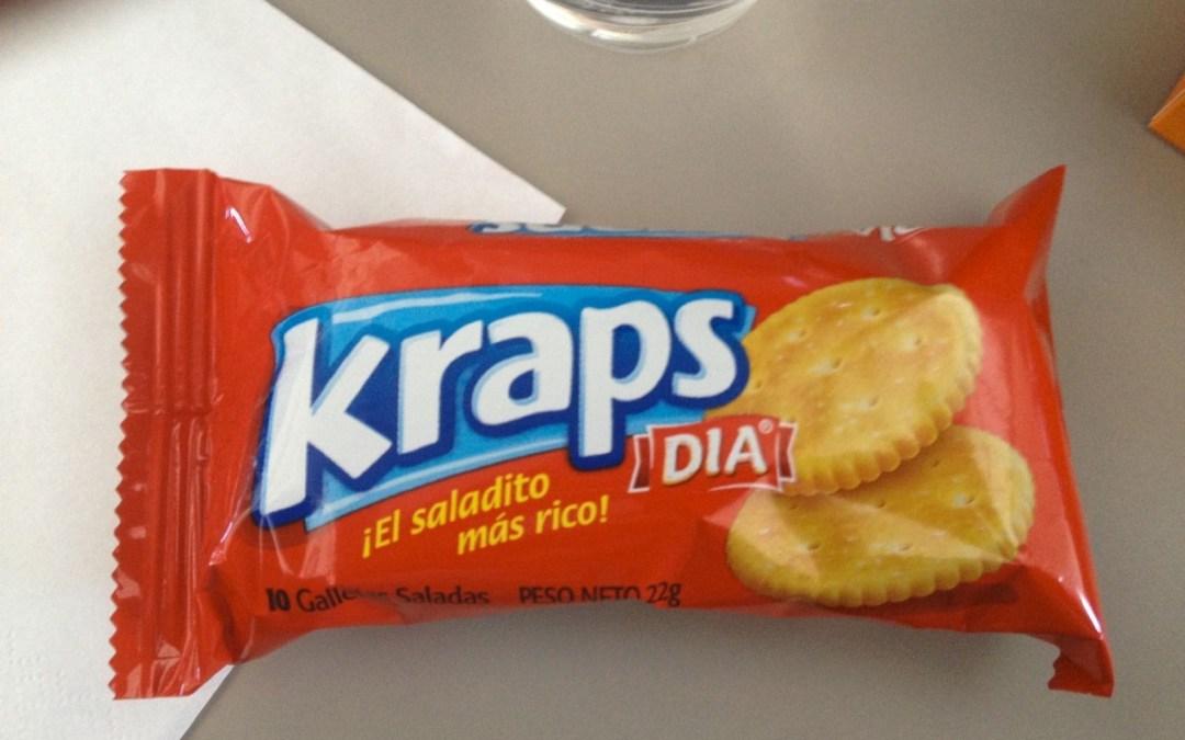 Kraps crackers, Peru