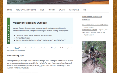 New website: specialtyoutdoors.com
