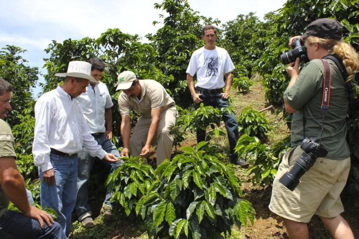 On assignment in Honduras