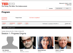 TED2013 program
