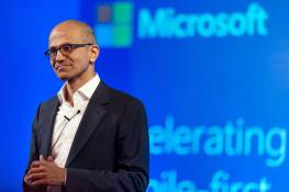 Microsoft Corp Chief Executive Officer Satya Nadella Speaks At Company Events