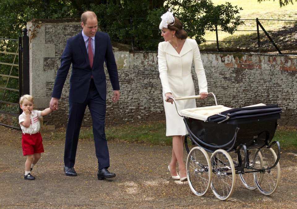 Kate Middleton&Prince William and Prince George