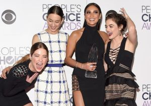 2016 People Choice Ödülleri, Pretty Little Liars Kızları