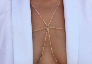 Circle Body Chain Kolye