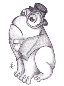 Monocle Frog