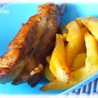 Svinjska rebarca s krumpirom