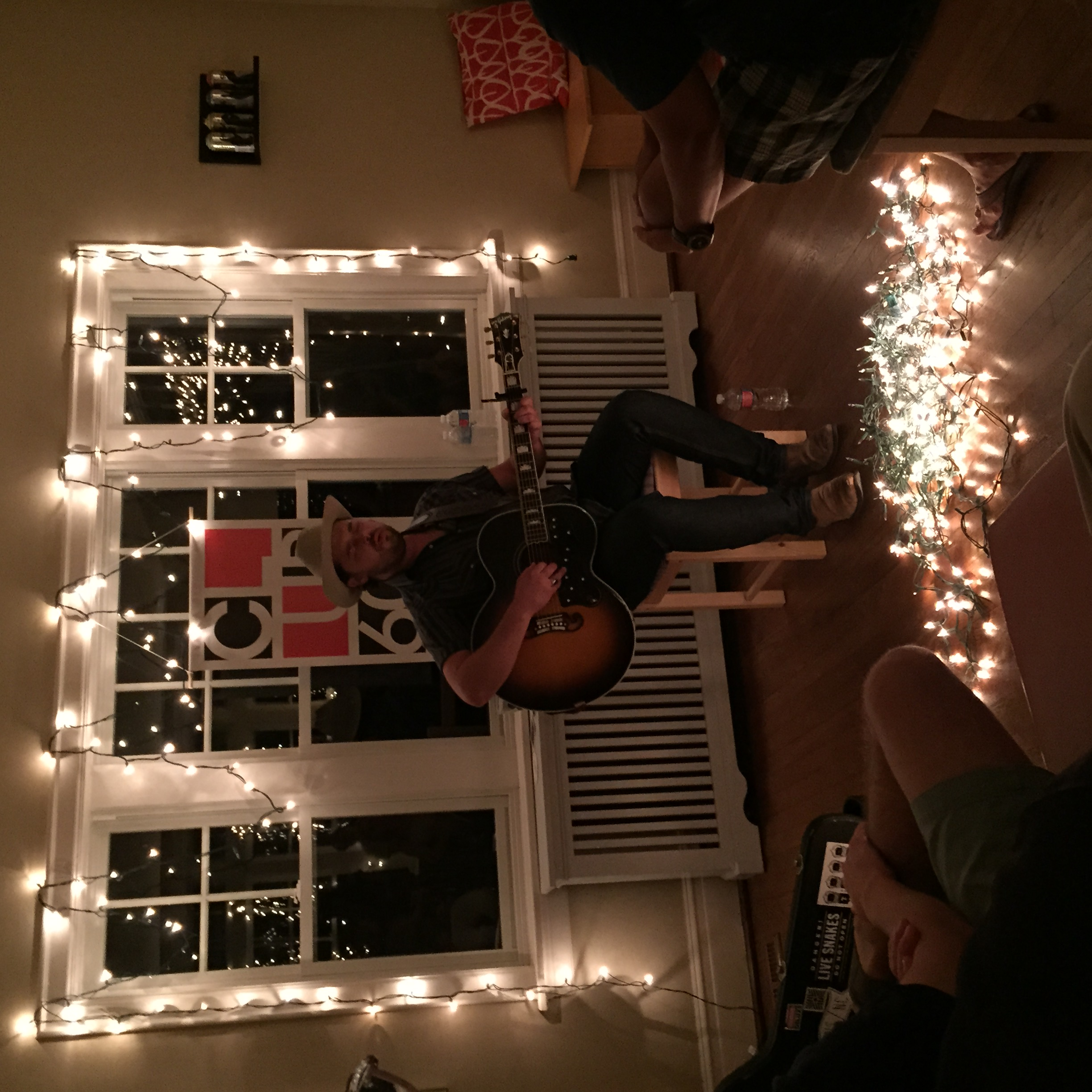 Mike Doughty Living Room Shows
