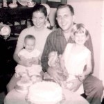 1950's with Wife Barbara, Shay and Sally