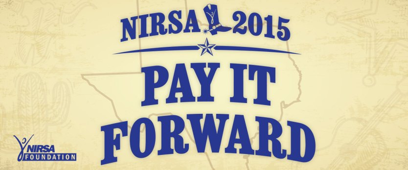 NIRSA 2015 Pay it Forward