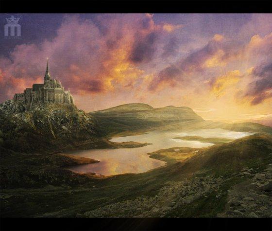 my_universe____by_machonis photomanipulation of landscape scenery
